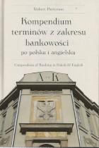 Kompendium terminów z zakresu bankowości  po polsku i angielsku tom I-VI