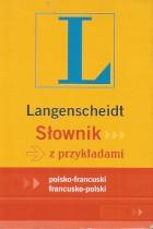 Słownik z przykładami polsko-francuski francusko-polski