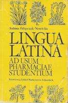 Lingua latina-Ad usum pharmaciae studentium