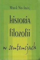Historia filozofii w sentencjach
