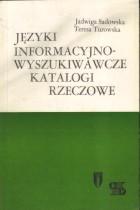 Języki informacyjno-wyszukiwawcze katalogi rzeczowe