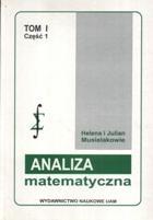 Analiza matematyczna tom 1 cz.1