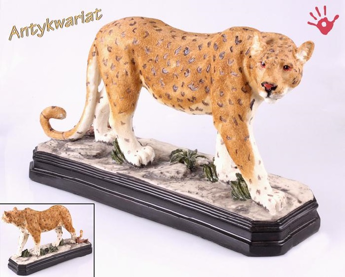 Figurka geparda 36 cm