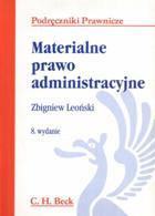 Materialne prawo administracyjne