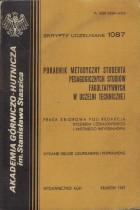 Poradnik Metodyczny Studenta Pedagogicznych Studiów Fakultatywnych w Uczelni Technicznej