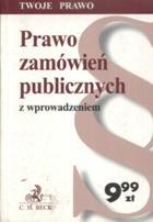 Prawo zamówień publicznych z wprowadzeniem