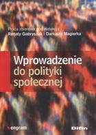 Wprowadzenie do polityki społecznej